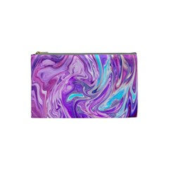 Abstract Art Texture Form Pattern Cosmetic Bag (small)