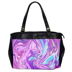 Abstract Art Texture Form Pattern Office Handbags (2 Sides)