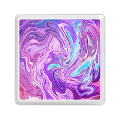 Abstract Art Texture Form Pattern Memory Card Reader (square)