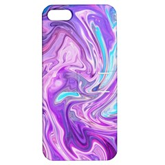 Abstract Art Texture Form Pattern Apple Iphone 5 Hardshell Case With Stand