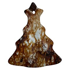 Rusty Texture Pattern Daniel Christmas Tree Ornament (two Sides)