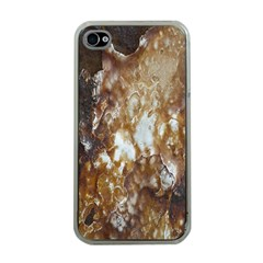 Rusty Texture Pattern Daniel Apple Iphone 4 Case (clear)
