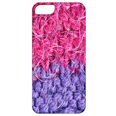 Wool Knitting Stitches Thread Yarn Apple Iphone 5 Classic Hardshell Case