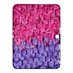 Wool Knitting Stitches Thread Yarn Samsung Galaxy Tab 4 (10 1 ) Hardshell Case