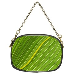 Leaf Plant Nature Pattern Chain Purses (one Side)