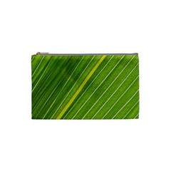 Leaf Plant Nature Pattern Cosmetic Bag (small)