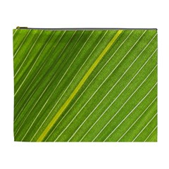 Leaf Plant Nature Pattern Cosmetic Bag (xl)
