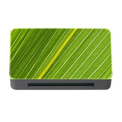 Leaf Plant Nature Pattern Memory Card Reader With Cf