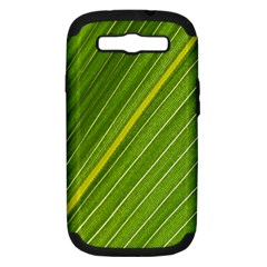 Leaf Plant Nature Pattern Samsung Galaxy S Iii Hardshell Case (pc+silicone)