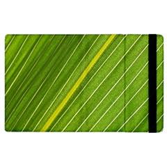 Leaf Plant Nature Pattern Apple Ipad 3/4 Flip Case