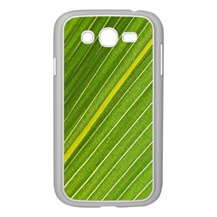 Leaf Plant Nature Pattern Samsung Galaxy Grand Duos I9082 Case (white)