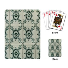 Jugendstil Playing Card