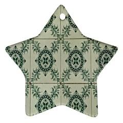 Jugendstil Star Ornament (two Sides)