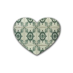 Jugendstil Heart Coaster (4 Pack)