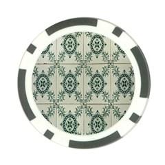 Jugendstil Poker Chip Card Guard (10 Pack)