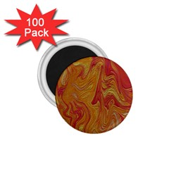 Texture Pattern Abstract Art 1 75  Magnets (100 Pack)