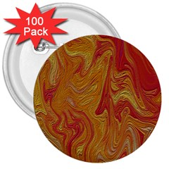 Texture Pattern Abstract Art 3  Buttons (100 Pack)