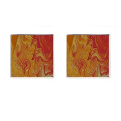 Texture Pattern Abstract Art Cufflinks (square)