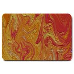 Texture Pattern Abstract Art Large Doormat