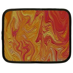 Texture Pattern Abstract Art Netbook Case (large)
