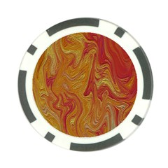 Texture Pattern Abstract Art Poker Chip Card Guard (10 Pack)