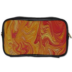 Texture Pattern Abstract Art Toiletries Bags 2 Side