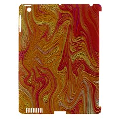 Texture Pattern Abstract Art Apple Ipad 3/4 Hardshell Case (compatible With Smart Cover)