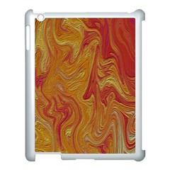 Texture Pattern Abstract Art Apple Ipad 3/4 Case (white)