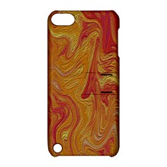 Texture Pattern Abstract Art Apple Ipod Touch 5 Hardshell Case With Stand