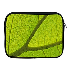 Green Leaf Plant Nature Structure Apple Ipad 2/3/4 Zipper Cases