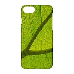 Green Leaf Plant Nature Structure Apple Iphone 7 Hardshell Case
