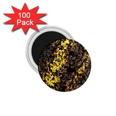 The Background Wallpaper Gold 1 75  Magnets (100 Pack)