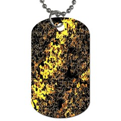 The Background Wallpaper Gold Dog Tag (one Side)