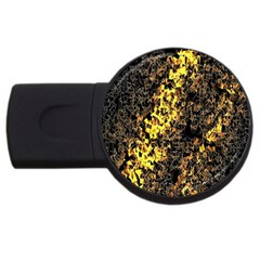 The Background Wallpaper Gold Usb Flash Drive Round (4 Gb)
