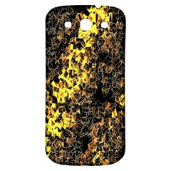 The Background Wallpaper Gold Samsung Galaxy S3 S Iii Classic Hardshell Back Case