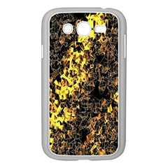 The Background Wallpaper Gold Samsung Galaxy Grand Duos I9082 Case (white)