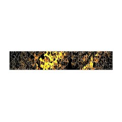 The Background Wallpaper Gold Flano Scarf (mini)