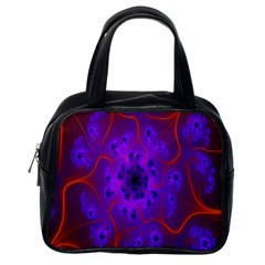 Fractal Mandelbrot Julia Lot Classic Handbags (one Side)