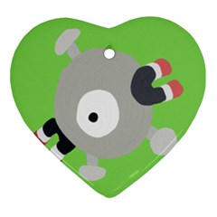 Magnemite (blue) Ornament (heart)