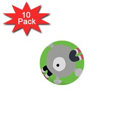Magnemite (blue) 1  Mini Buttons (10 Pack)
