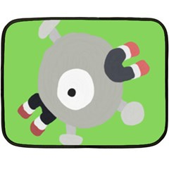 Magnemite (blue) Double Sided Fleece Blanket (mini)
