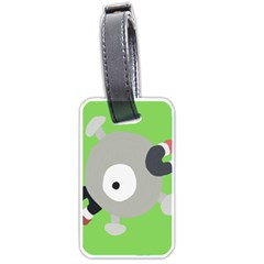 Magnemite (blue) Luggage Tags (one Side)