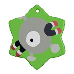 Magnemite (blue) Snowflake Ornament (two Sides)