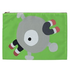 Magnemite (blue) Cosmetic Bag (xxl)