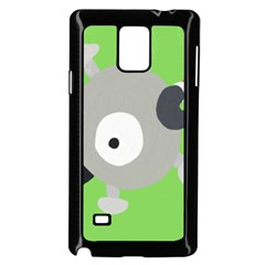 Magnemite (blue) Samsung Galaxy Note 4 Case (black)