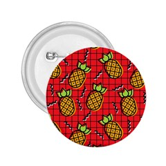Fruit Pineapple Red Yellow Green 2 25  Buttons