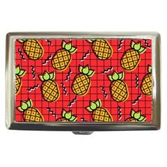 Fruit Pineapple Red Yellow Green Cigarette Money Cases