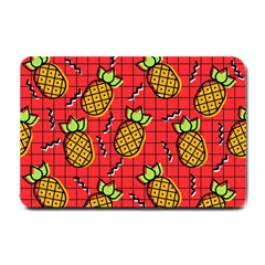 Fruit Pineapple Red Yellow Green Small Doormat