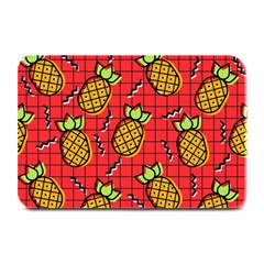Fruit Pineapple Red Yellow Green Plate Mats