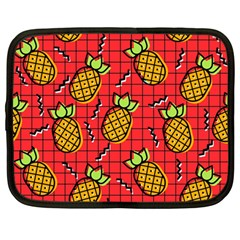 Fruit Pineapple Red Yellow Green Netbook Case (large)